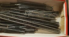 A Large Box of Used Hornby/Tri-ang Etc 00 Gauge Track Parts.