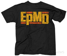 EPMD- Distressed Logo Apparel T-Shirt XL - Black