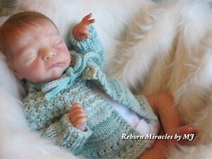 Mick Asleep reborn baby doll