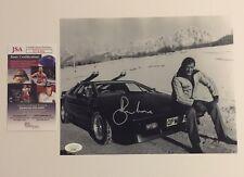 Roger Moore Autographed Signed 8x10 Photo JSA COA