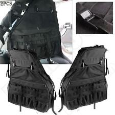 For Jeep Wrangler JK Tactical Roll Cage Storage Organizers Cargo Bag Saddlebag