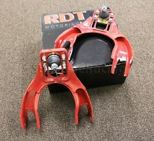 RDT 1992-1995 Honda Civic Front Upper A-Arm control Arm Camber Kit Red EG