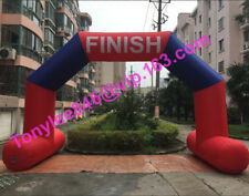 18ft Inflatable Finish Line Arches,Custom Inflatable Arch with logo & UL blower