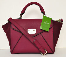 NWT Kate Spade New York Wesley Place Suede Small Laurel Handbag