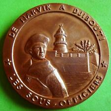 L@@k Army 13th Demi-Brigade of Foreign Legion Narvik to Djibouti Bronze Medal!