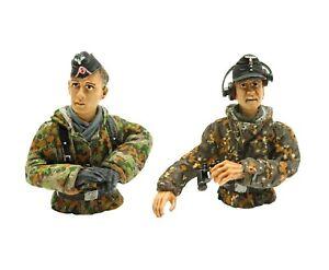 1:16 Scale Torro German Tank Commander & Loader Figure WWII RC Summer Tank Crew