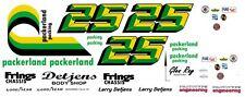 #25 Larry Detjens Packerland Camaro 1970-78 1/18th Scale Waterslide Decals
