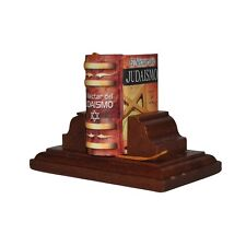 New Miniature Book El Nectar del Judaismo w/stand in Spanish hardbound 302 pag