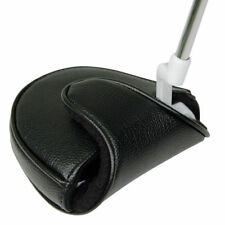 NEW MASTERS DELUXE GOLF MALLET PUTTER COVER LEATHER LOOK & FEEL MAGNET CLOSE