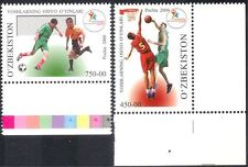Uzbekistan 2009 Youth Games/Sport/Basketball/Football/Soccer 2v set (n25878)