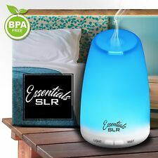 7 Colors LED Humidifier Air Ultrasonic Oil Airtherapy Essential Aroma Diffuser