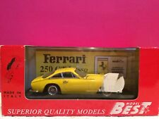 MODEL BEST SUPERBE FERRARI 250 GTL 1964 STRADALE NEUF EN BOITE ech 1/43 W3