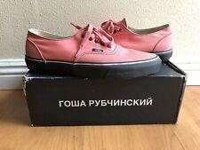 Gosha Rubchinskiy x VANS Tea Rose Pink Authentics Size 10