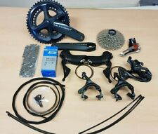 Shimano R8000 Ultegra Full Road Groupset 50/34T 172.5mm 11-34T with cables NEW