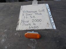VOLKSWAGEN GOLF 1.6 SR 5 DOOR FRONT WING INDICATOR LENSE MARK 4 2000