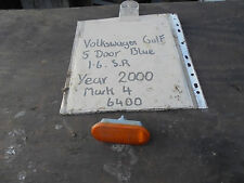 VOLKSWAGEN GOLF 1.6 SR 5 PORTE FRONT WING Indicatore lente a Mark 4 2000