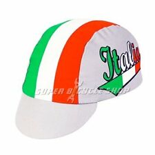 PACE Italia Cycling Bicycle Cap Hat, White x Red x Green