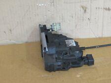 VAUXHALL CORSA D 2012 3DR PASSENGER SIDE FRONT DOOR LOCK P/N: 13258277