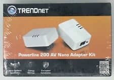 TRENDNET POWERLINE 200 AV NANO ADAPTER KIT SECURITY TPL-308E2K/A ALARM