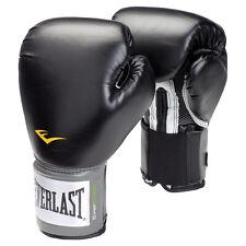 GUANTONI EVERLAST BLAK PRO STYLE TRAINING MMA BOXING IT BOXE PUGILATO KICKBOXING