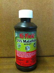 Hi-Yield 55% Malathion Spray, chose 8 oz,16 oz, 32 oz