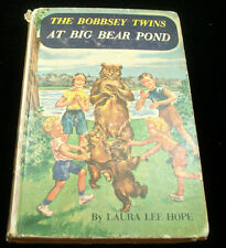 The Bobbsey Twins at Big Bear Pond Book 1958 by Laura Lee Hope