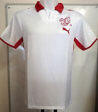 SWITZERLAND 2008/09 S/S AWAY SHIRT BY PUMA SIZE ADULTS LARGE BRAND NEW WITH TAGS