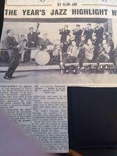 65-4 Ephemera 1960 Article The Johnny Dankworth Jazz Band