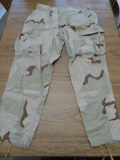 USMC 3 Clr Desert Camo Combat Trousers Pants Large Short Buzz Off Insect Shield