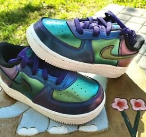 "Nike Air Force 1 LV8 ""Iridescent"" BRAND NEW Toddler 4C"