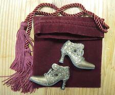 Rare chaussures Renaissances de R.Tonner. pour poupées Tyler, Sydney,  etc..