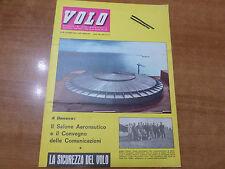 VOLO n.10 del 1963 Mensile di vita aeronautica Aero Club Italia