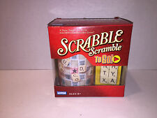 SCRABBLE SCRAMBLE TO GO Parker Brothers Travel 2006 Crossword