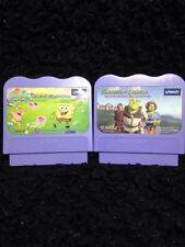Vtech- VSmile Sponge Bob & Shrek Game Cartridges