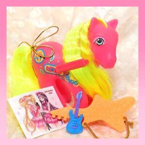 ❤️My Little Pony MLP G1 Vtg 1980's Rockin' Beat SWEET NOTES Guitar BRUSH❤️