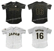 Retro Shohei Ohtani #16 Japan Baseball Jerseys Stitched Angels Fans Shirts
