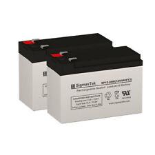 12V 9AH SLA Batteries (Replaces: UB1290, PX12090, PE12V (2x 12V 9AH T2)