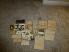 World War 1 Military Photographs RPPC Postcards Letters Documents Cards Named