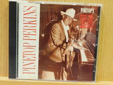 Pinetop Perkins Pinetop's Boogie Woogie CD 1992 Antone's Discovery Soul R n B