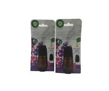 Air Wick- (2) Essential Mist Refills (Lavender & Almond Blossom)