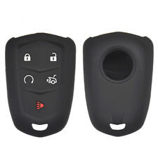 Silicone Key Case Cover For Cadillac CT6 ATS CTS XTS SRX XT5 Fob Remote Jacket