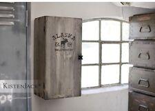 industrial  Loft design # Hausbar Schrank Regal Truhe Vintage Hängeschrank