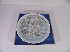 "Haviland China Collector's Plate, ~ 1974 Mothers Day Series, ""The Wash"", #JS-04"