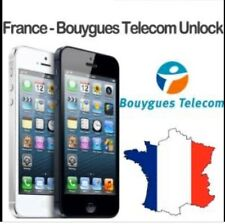 Bouygues France 🇫🇷 All iPhones Unlocking Instant 1to24 Hours Cheap Price...