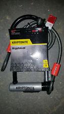 Kryptonite KryptoLok STD with 4' Flex Cable U-Lock Bike Lock