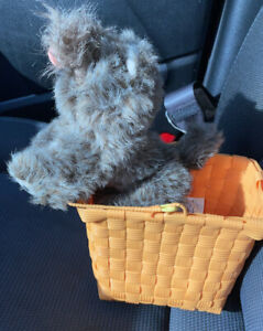 Wizard of Oz Dorothy's Toto in a Basket  Plush Stuffed Toy