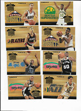 1994-95 Fleer NBA League Leader 8 card Insert Set - Shaq