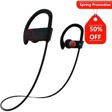 Bluetooth Wireless Waterproof Headphones Senso Best Sports Earphones W/ Mic IPX7