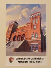 BIRMINGHAM CIVIL RIGHTS National Park Poster 16th Street Baptist Church NOINTSHP