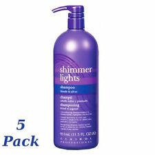 CLAIROL (Blue) Shimmer Lights Shampoo 32 oz. (Blonde & Silver)(5 Pack)